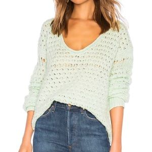 🌸 NWT Free People Crashing Waves Pullover Sweater